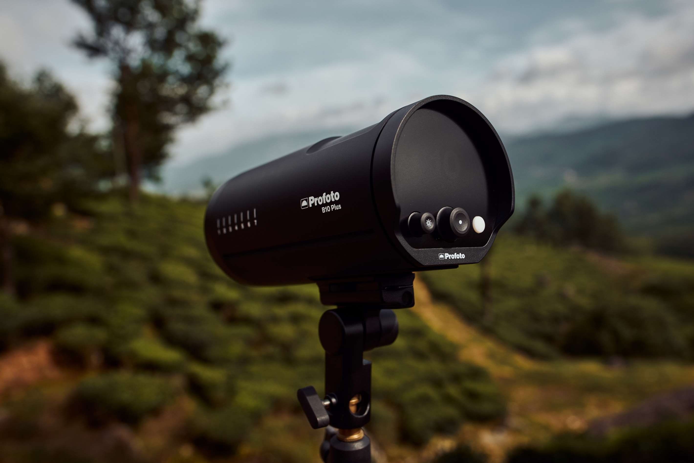 Profoto B10 Plus flash and continuous light on location