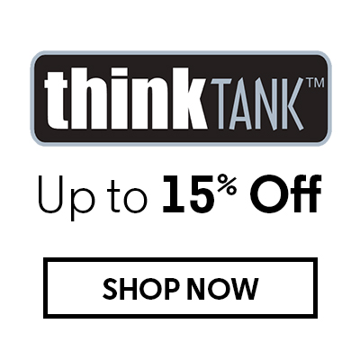 ThinkTank Up to 15% Off