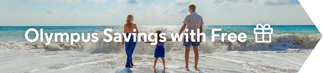 Olympus Savings with Free Gift