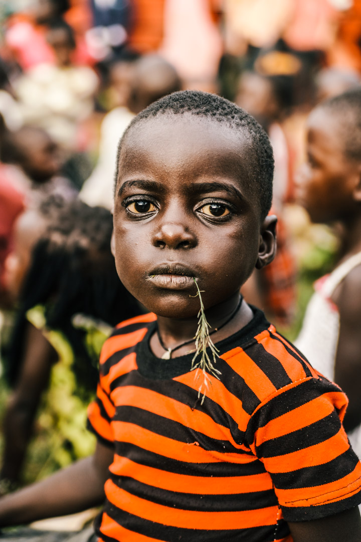 Orphans in Uganda by Marcus Wong