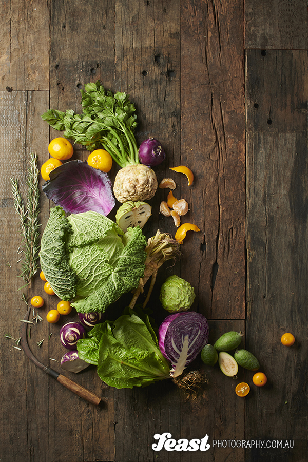 Food photography tips from professional Nadine Shaw