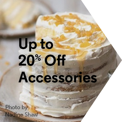 Up to 20% Off Accessories