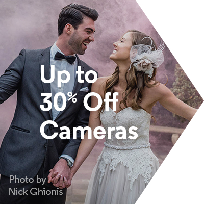 Up to 30% Off Cameras