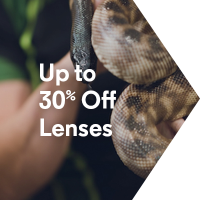Up to 30% Off Lenses