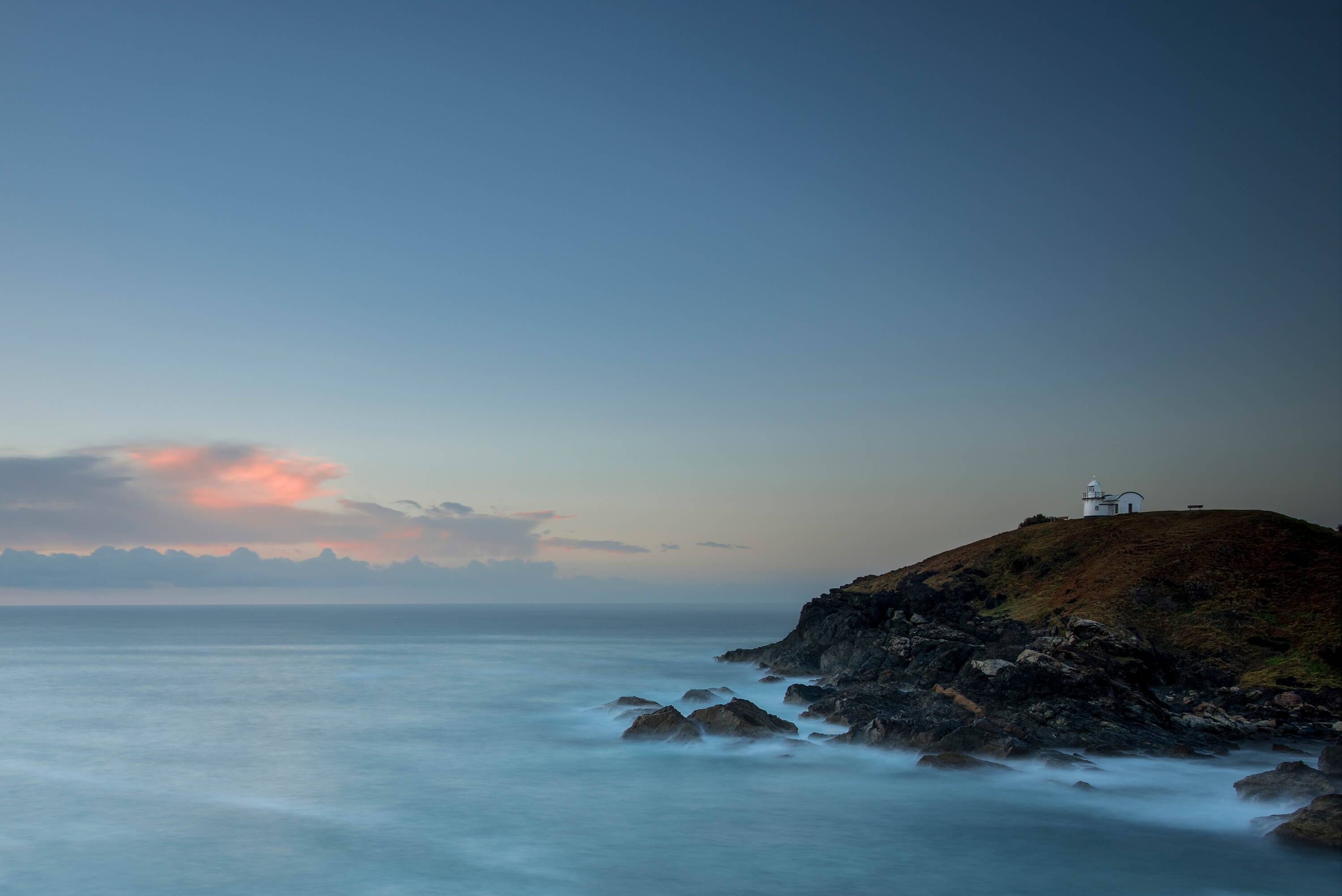 Long exposure landscape photo shot with Lee Filters Little Stopper