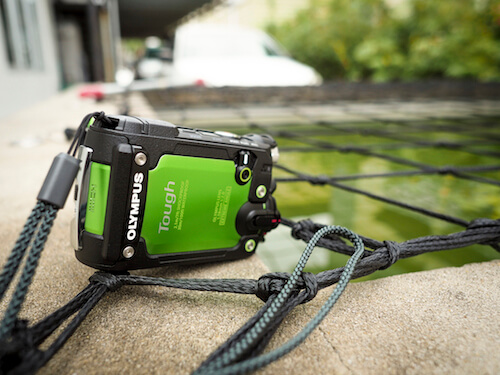 Olympus Tough TG Tracker - outdoors