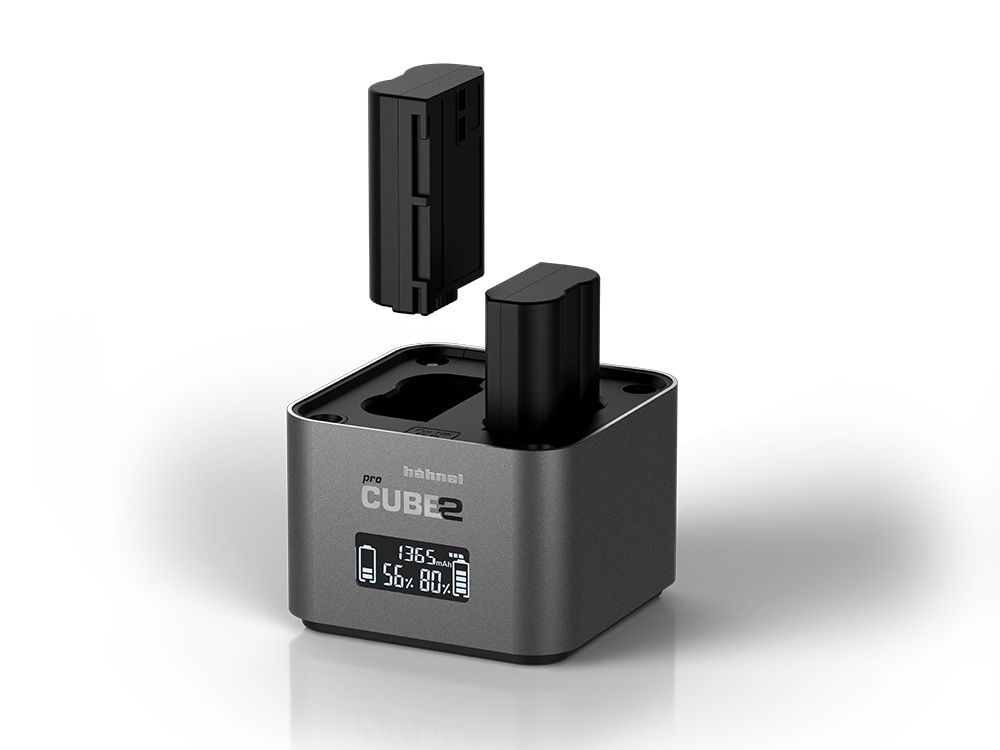 Hahnel Pro Cube 2 charger for Nikon camera batteries