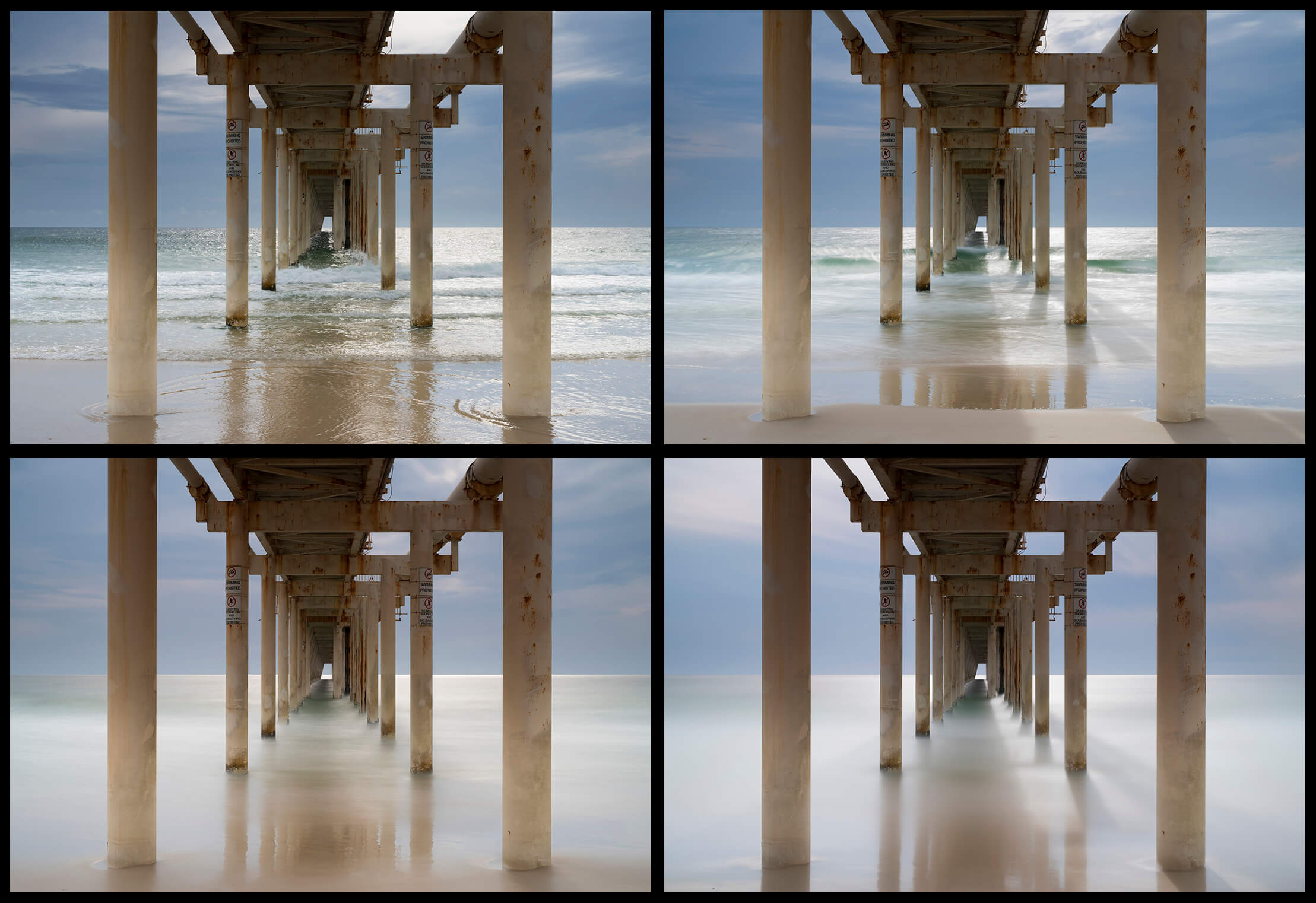 ND filter effects: None vs Lee Filters Little Stopper, Big Stopper and Super Stopper