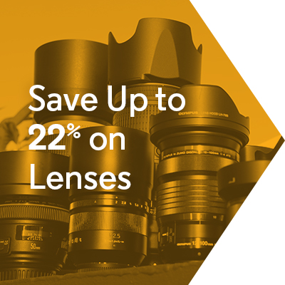 Save Up to 22% on Lenses