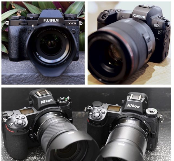 X-T3, EOS R, Z6 and Z7