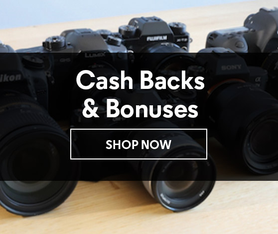 Cash Backs & Bonuses