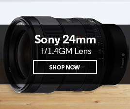 Sony 24mm f/1.4GM Lens