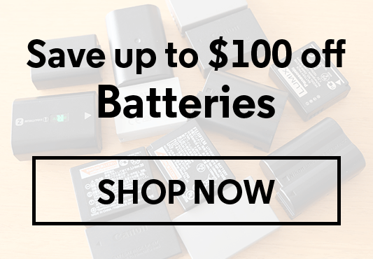 Save up to $100 Off Batteries