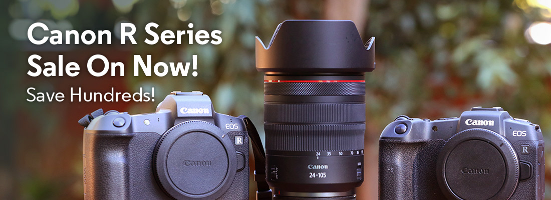 Canon R Series Sale On Now!