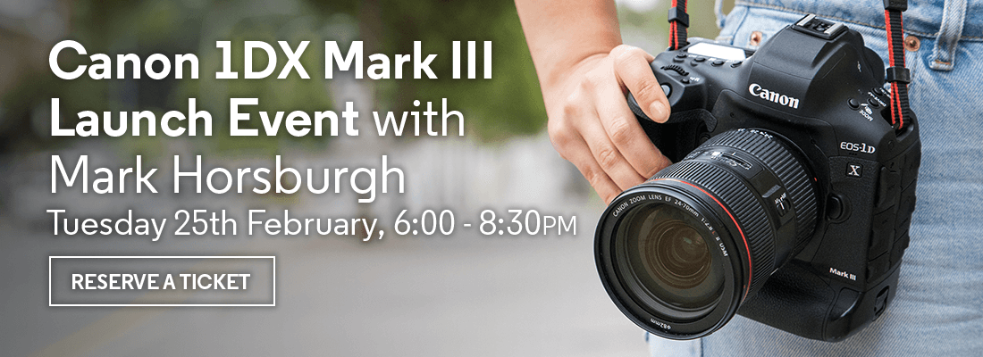 Canon 1DX Mark III Launch Event with Mark Horsburgh