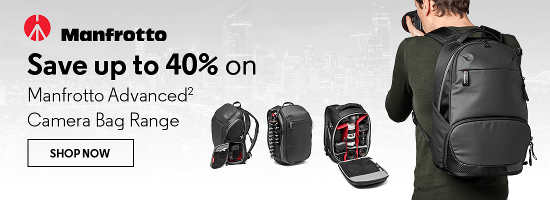 Save up to 40% on Manfrotto Advanced2 Camera Bag Range