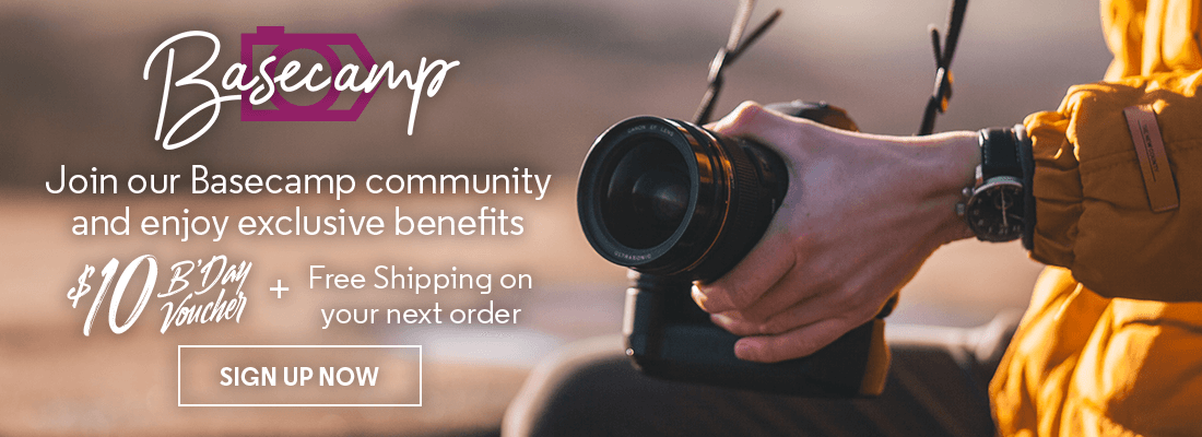 Join our Basecamp community and enjoy exclusive benefits