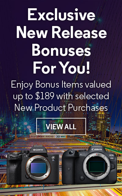 Exclusive New Release Bonuses For You!