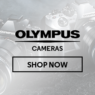 Save up to $400 on Olympus Cameras