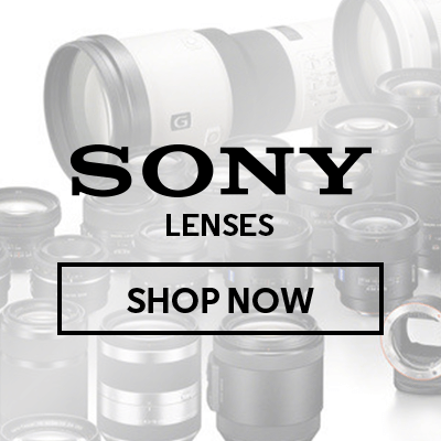 Save up to $450 on Sony Lenses