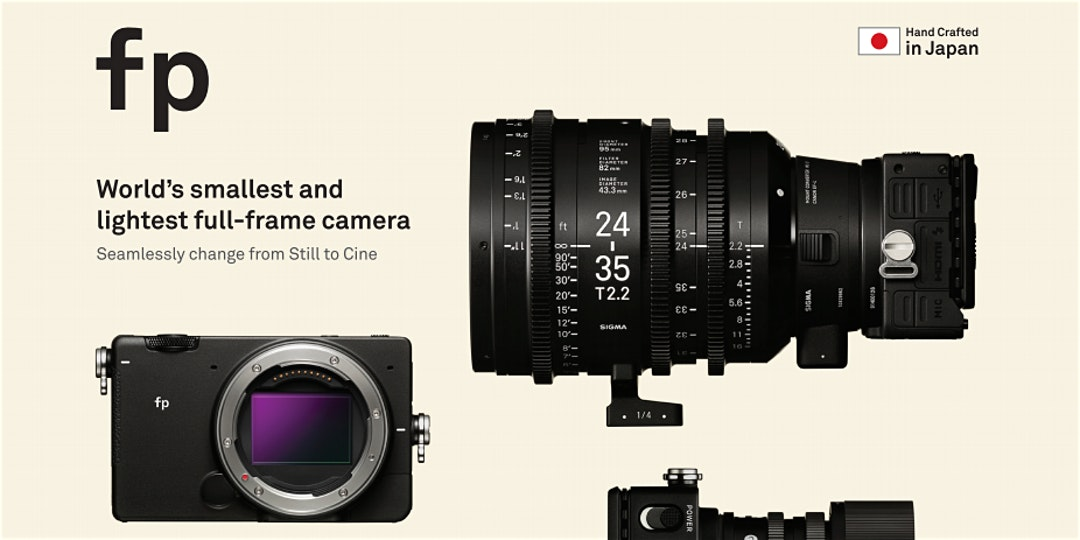 Sigma FP Launch with Ben Messina, X Media & CRKennedy