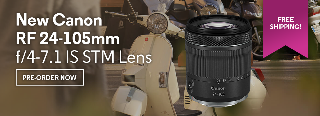 New Canon RF 24-105mm f/4-7.1 IS STM Lens