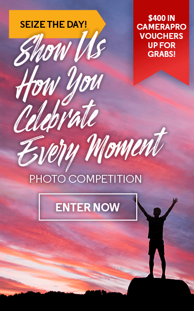 Seize The Day! Show Us How You Celebrate Every Moment - Photo Competition