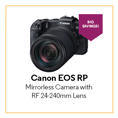 Canon EOS RP Mirrorless Camera kit with RF 24-240mm Lens