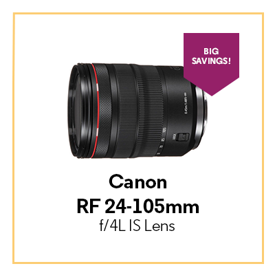 Canon RF 24-105mm f/4L IS Lens
