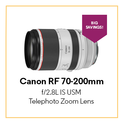 Canon RF 70-200mm f/2.8L IS USM Telephoto Zoom Lens