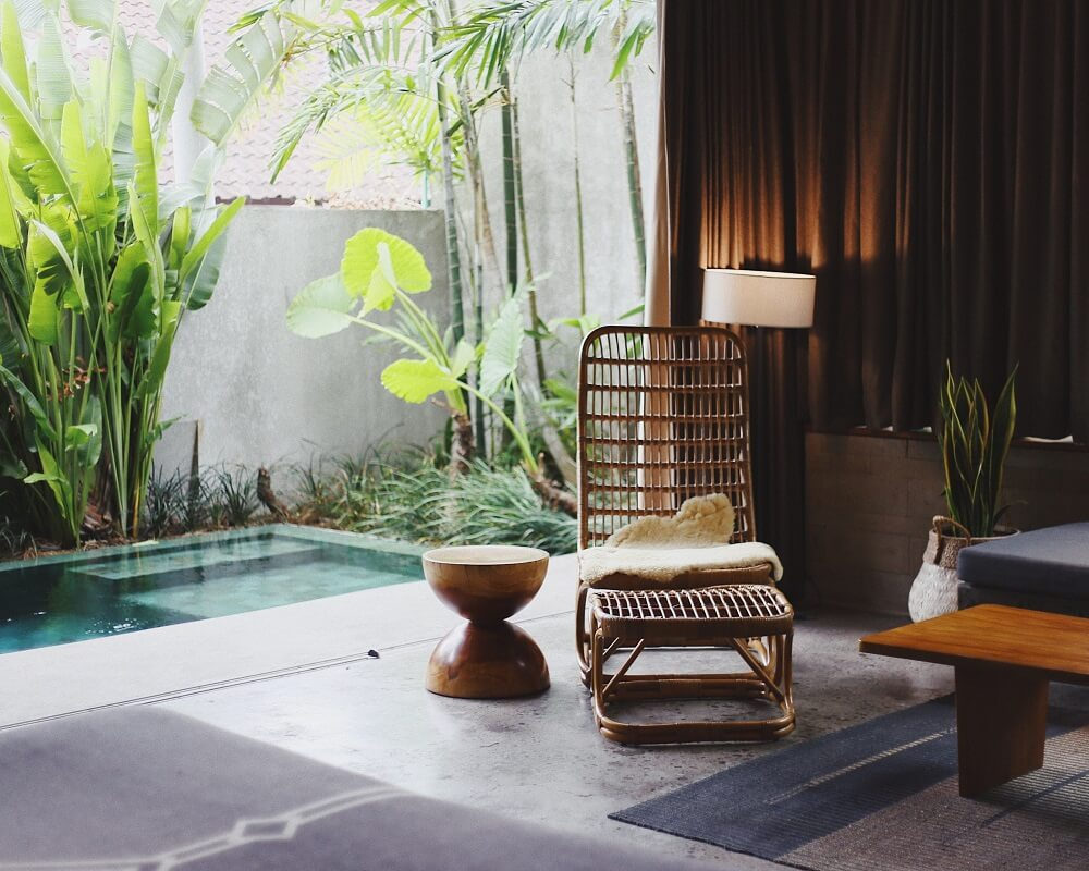 interior and real estate photography tropical design